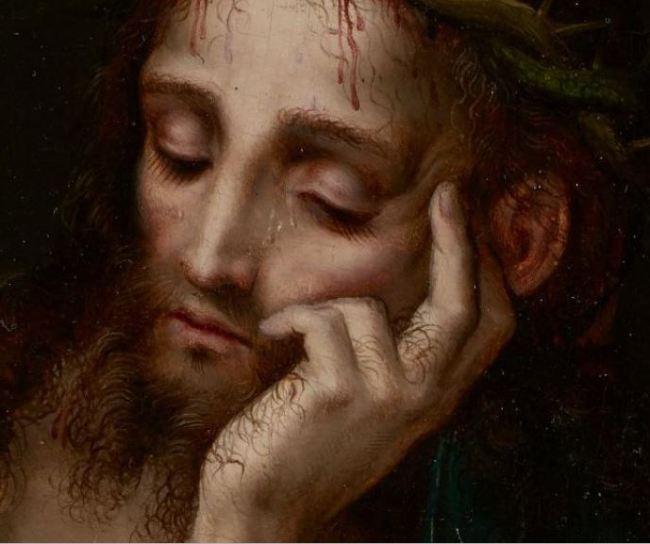 Man of sorrows close up