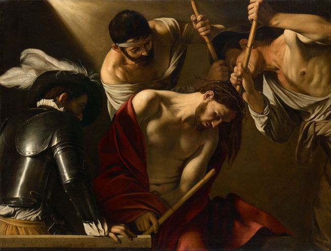 Caravaggio_-_The_Crowning_with_Thorns